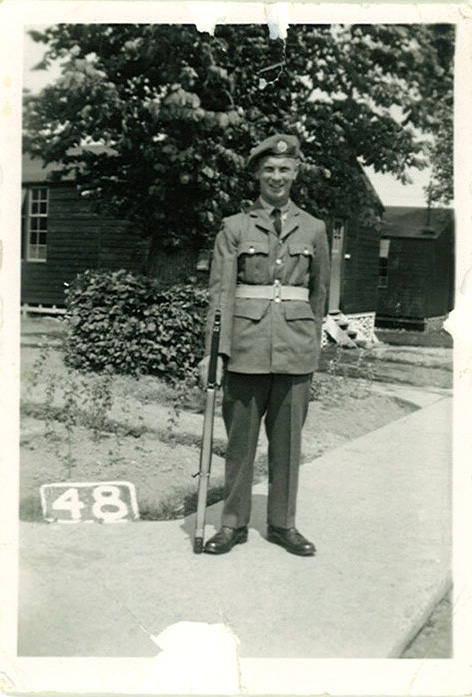 Dad in RAF Uniform